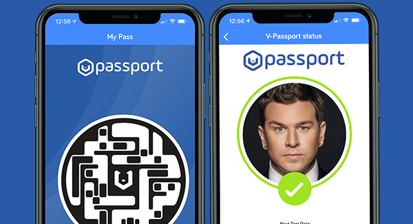V-Health Passport™ Estado